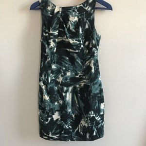 Ann Taylor printed sheath dress
